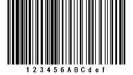 EAN 128 Barcode