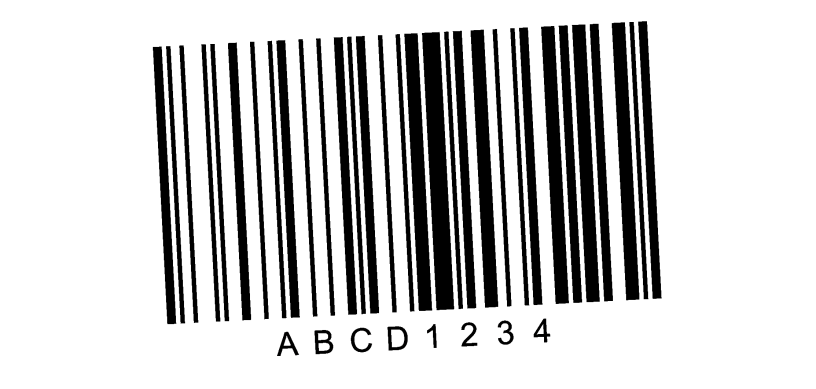Rotated symbol 600dpi