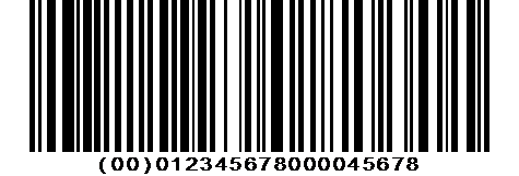 SSCC-18 code à barres