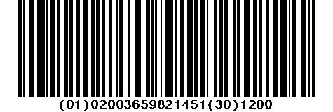GTIN GS1 barcode