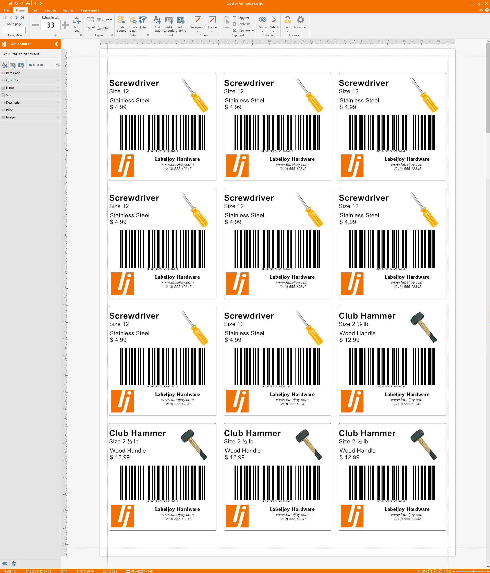 Best Custom Price TAG Maker: Download it with Free Template