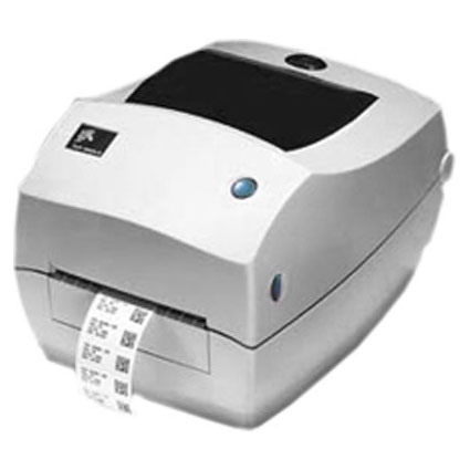 De Zebra TLP 3842 roll printer