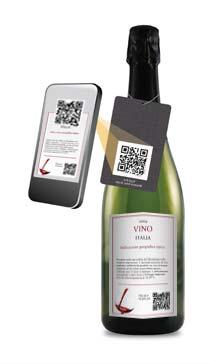 Wine Label Qr code