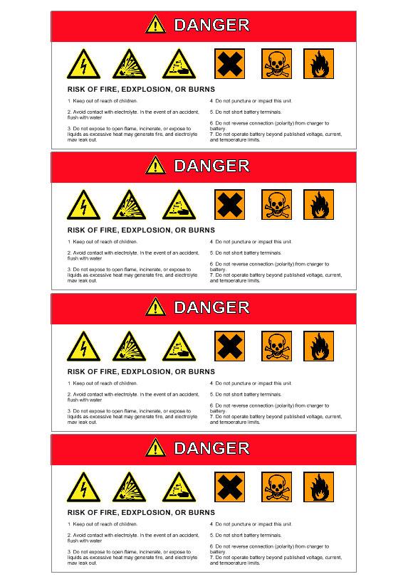 Automotive Etiketten mit Strichcode Etiketten Vorlagen | Labeljoy
