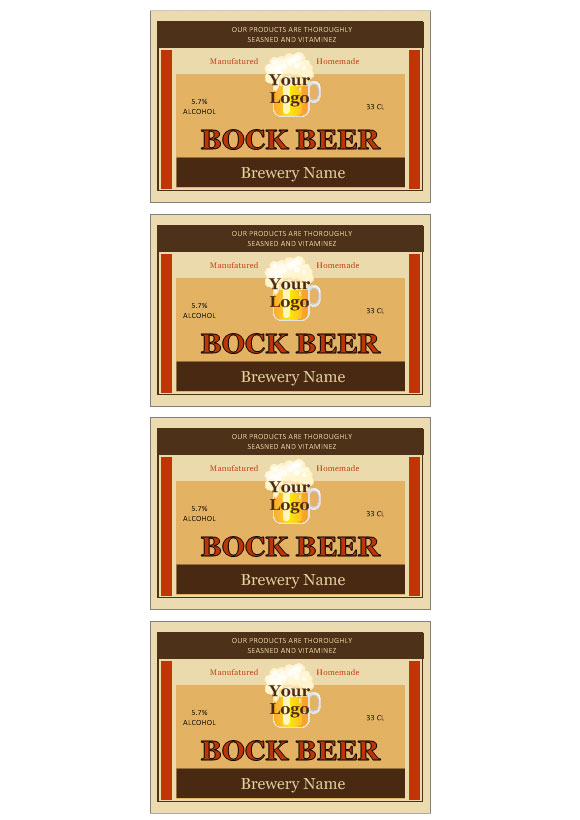 Beer Labels 171 Labeljoy Labels Printing Software