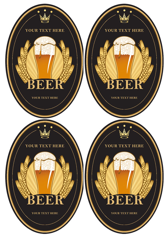 Beer Label Black And White Beer Labels Beer Labels Vectors Photos