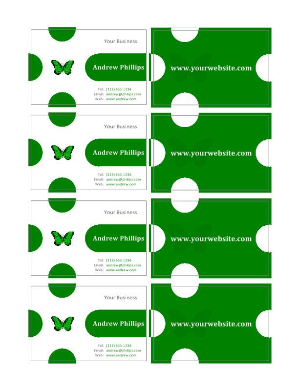 Visitkort mallar | Skapa dina egna visitkort