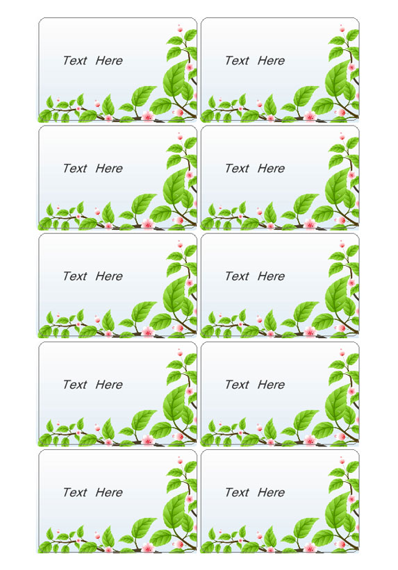 Tarjetas – Labeljoy | Print Label Software and Barcode Label Maker