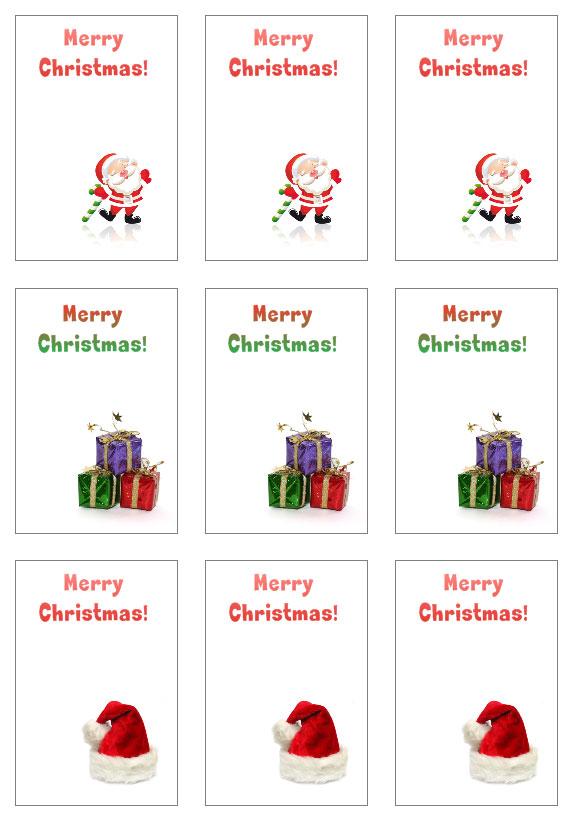 christmas tag template