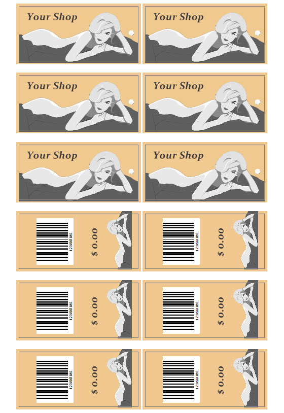 Clothing Tags | Download Clothes Tags Templates Labeljoy