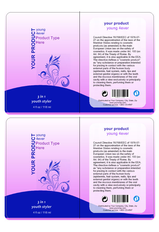Cosmetic Label Template | Create Cosmetic Labeling - Labeljoy