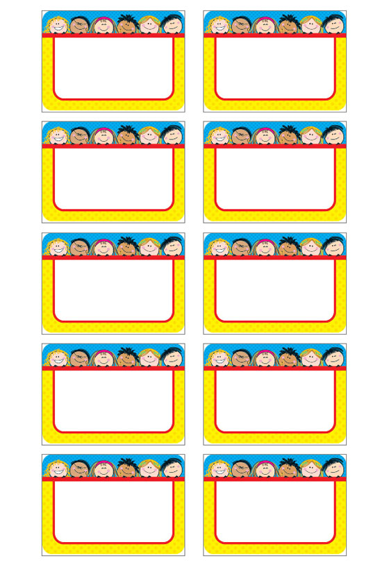 preschool name tag templates - name tag labeljoy best barcode label printing software
