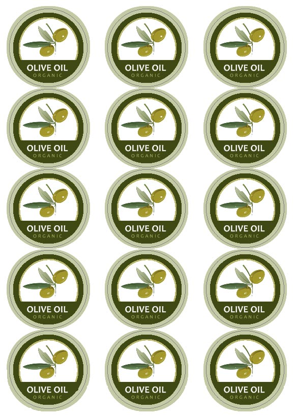 olive oil labels 171 labeljoy labels printing software