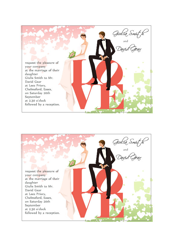 Inviti Matrimonio Labeljoy Labels Printing Software