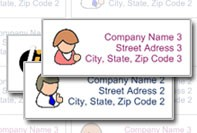 Simple address Labels