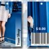 Dress shop tags
