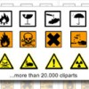 Danger labels for shipments