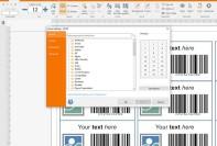 Produktcode layout