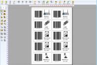 étiquettes de prix avec code à barrese