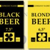 Blonde beer labels
