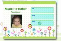 1st birthday invitation template
