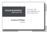 Business card professionale