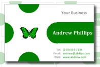 Biglietto business card