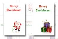 Рождественские шаблоны