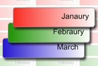 maanden labels