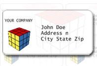 De simples étiquettes pour l'envoi
