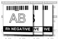Blodgivning Label