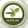 Circle olive oil label template