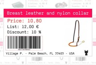 Manufacture price tag