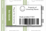 Library Label 1