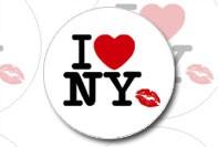 Наклейки с видами Нью-Йорка