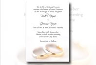 Invito matrimonio da stampare